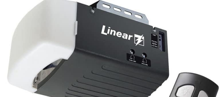 Linear garage door opener brand Mesa