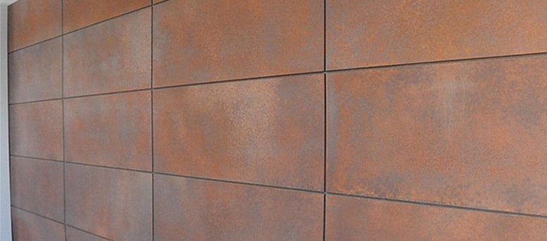 Custom Copper Garage Doors in Oklahoma City