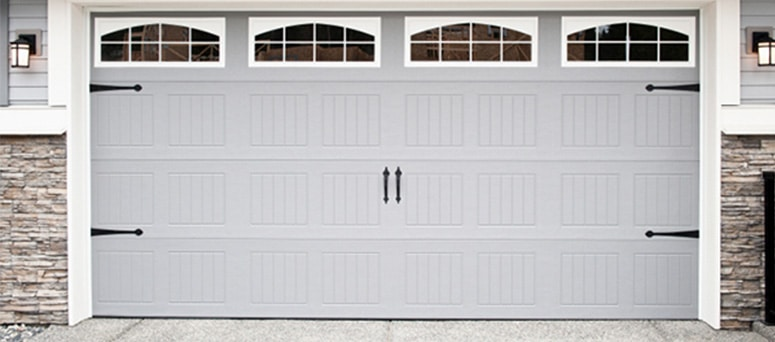 custom made steel garage door