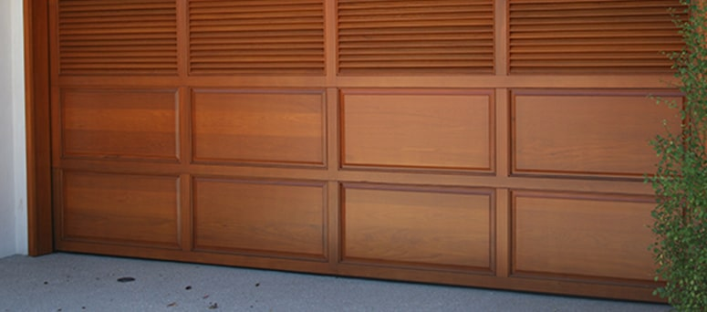 Custom Wood Garage Doors in Mesa