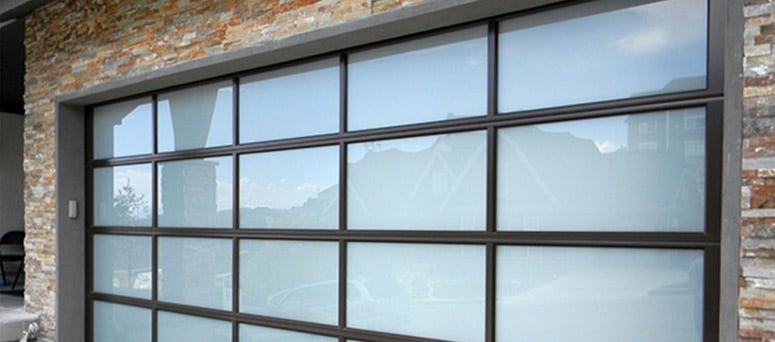 Glass Garage Doors in Tulsa