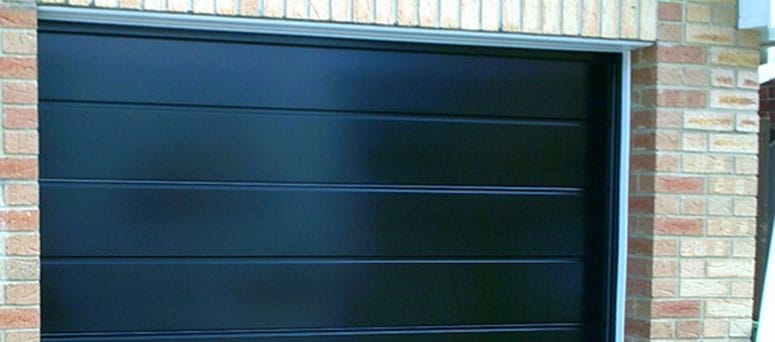 Black Garage Doors in Milwaukee, WI