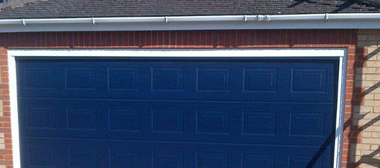 Blue Garage Doors in Tucson