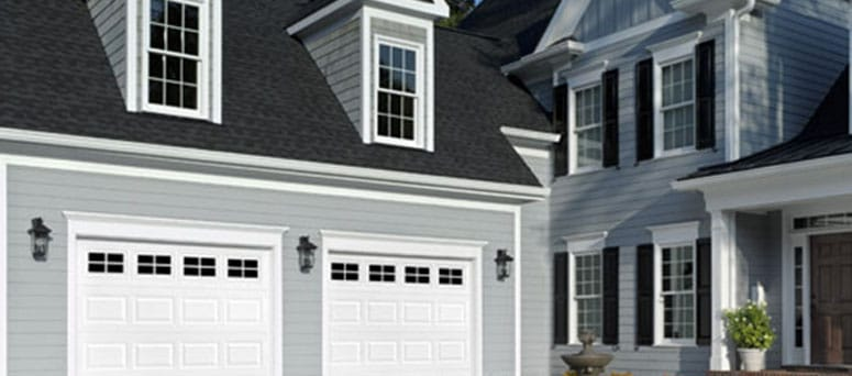 Traditional raised garage doors Glendale
