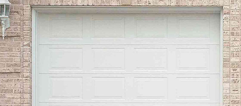 White Garage Doors in Houston